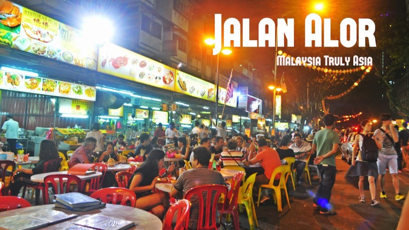 Jalan Alor: con đường ăn uống sầm uất nổi tiếng ở Kuala Lumpur