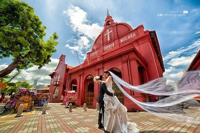 Loạt Ảnh Cưới Vạn Người Mê Tại Malacca – Malaysia