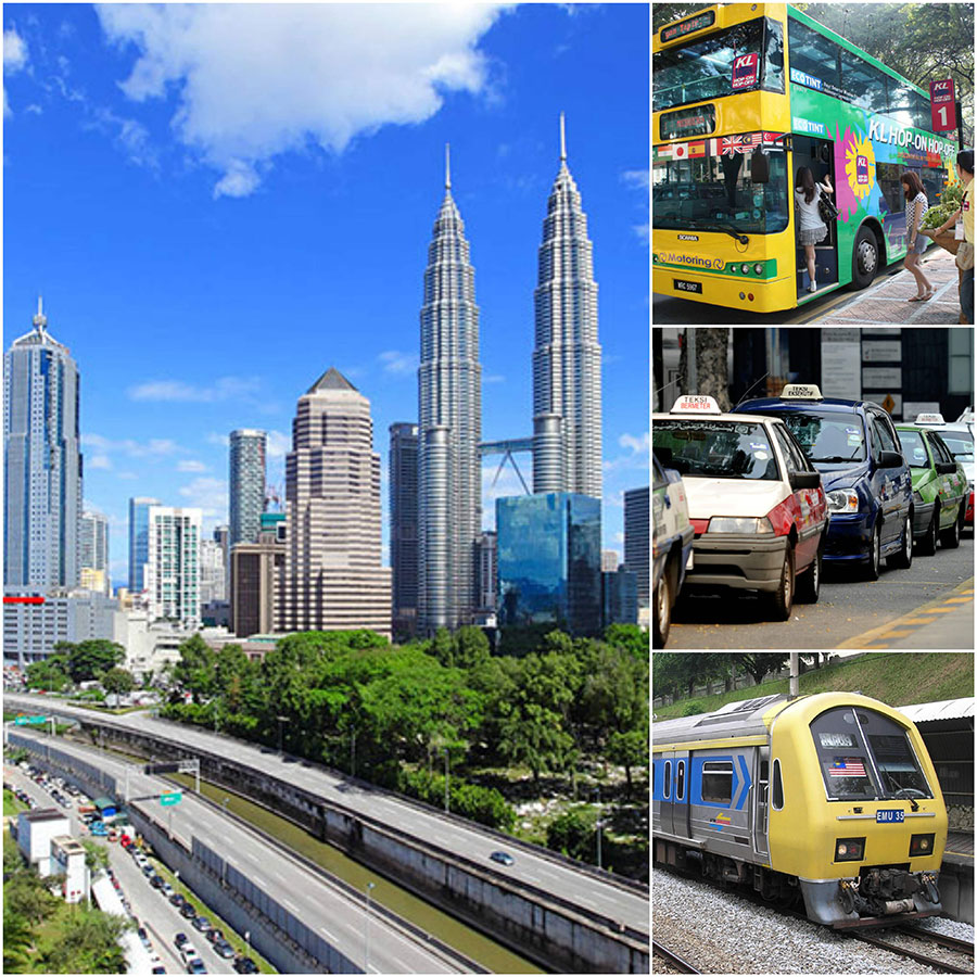 Phương Tiện Di Chuyển Khi Du Lịch Tự Túc Malaysia