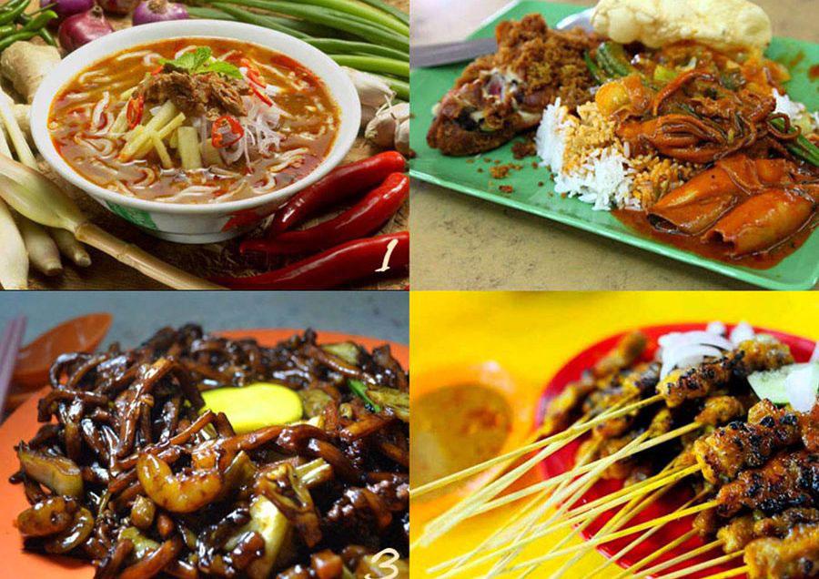 Đi Phố Ẩm Thực Du Lịch Hè Tại Malaysia