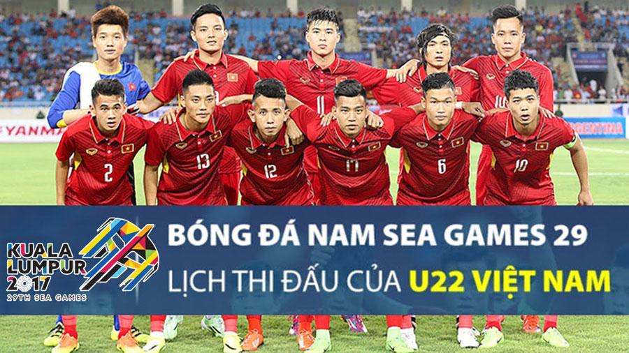 Cập Nhật Lịch Thi Đấu Bóng Đá Nam U22 Sea Games 29 Tại Malaysia
