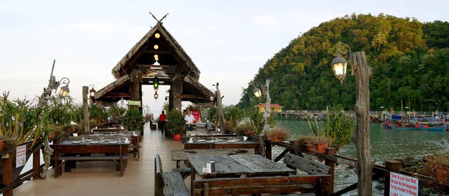 Nhà Hàng Hải Sản Tại Langkawi