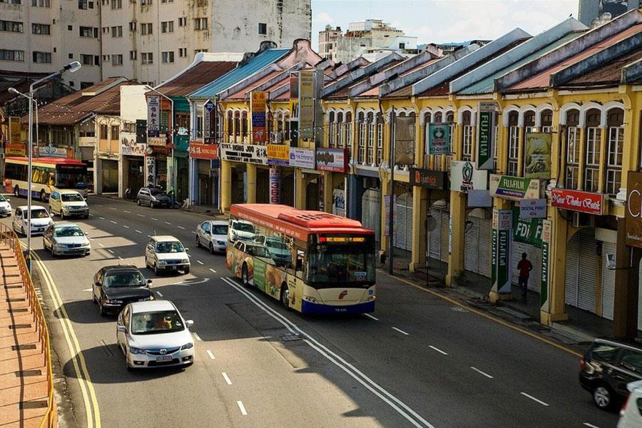 Phương Tiện Di Chuyển Tại Penang