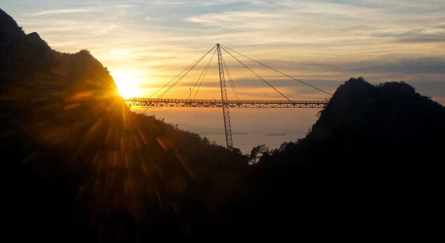 Tham Quan Cầu Treo Langkawi