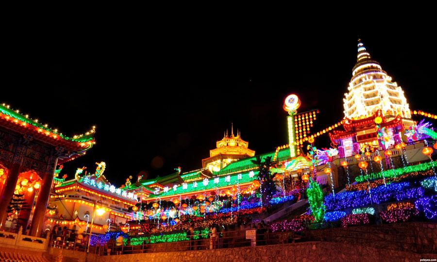 chùa Kek Lok Si