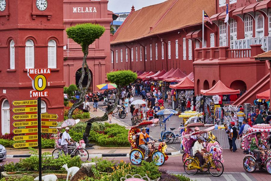 Khám Phá Bảo Tàng Khổng Lồ Malacca Malaysia