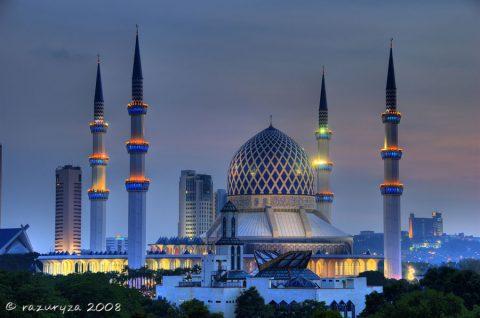 Khám Phá Kiến Trúc Độc Đáo Thánh Đường Hồi Giáo Malaysia