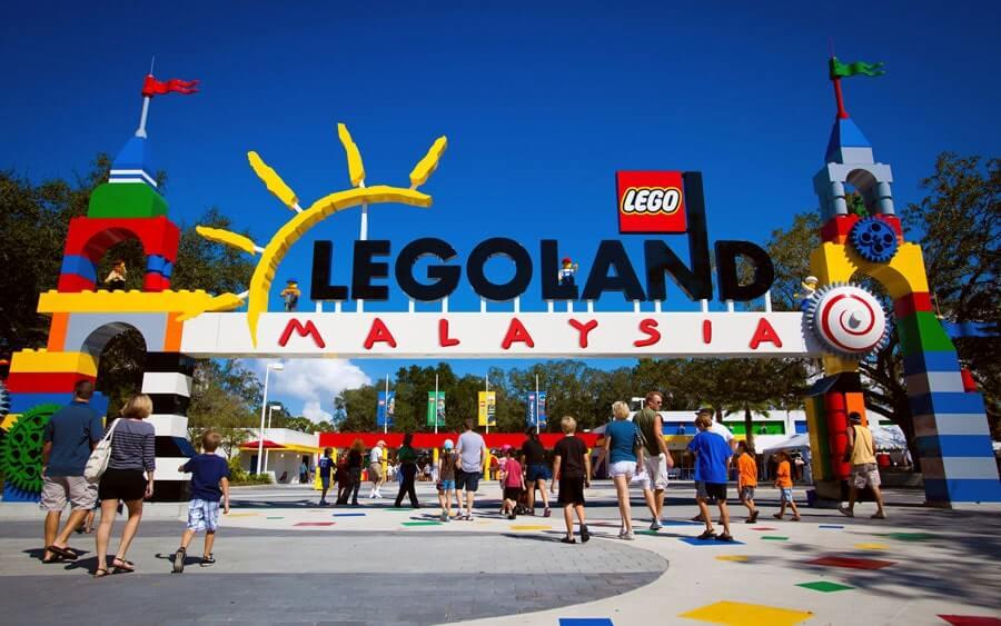 khu vui chơi giải trí Legoland