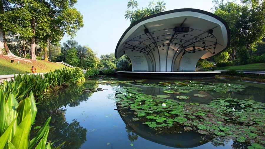 vườn bách thảo Botanic