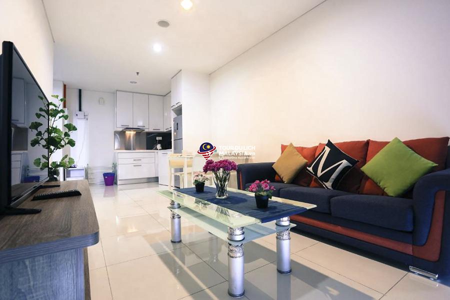 Căn Hộ 1 Phòng Ngủ Premium – Homestay đẹp ở Kuala Lumpur, Malaysia