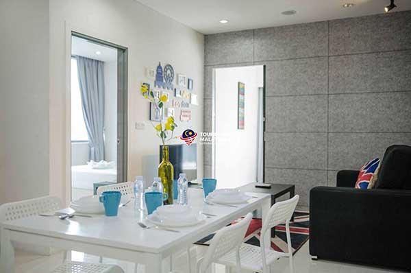 Căn Hộ Suite 2 Phòng Ngủ Tiện Nghi 5 khách – Căn hộ du lịch Kuala Lumpur