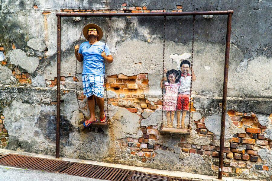 chup-hinh-cung-tranh-tuong-o-Georgetown-Penang