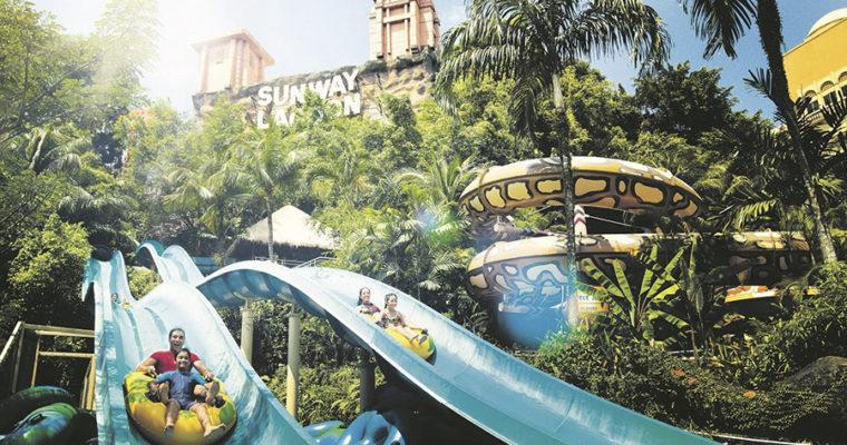 Khu Vui Chơi Sunway Lagoon Malaysia – Tour 1 Ngày