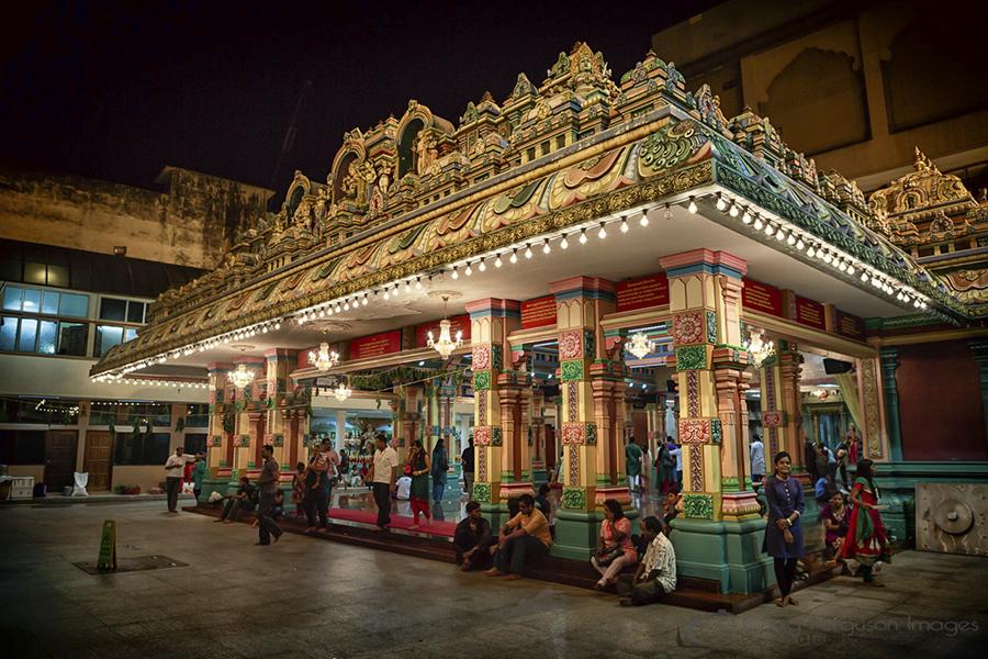 Sri Mahamariamman Temple, Kuala Lumpur.