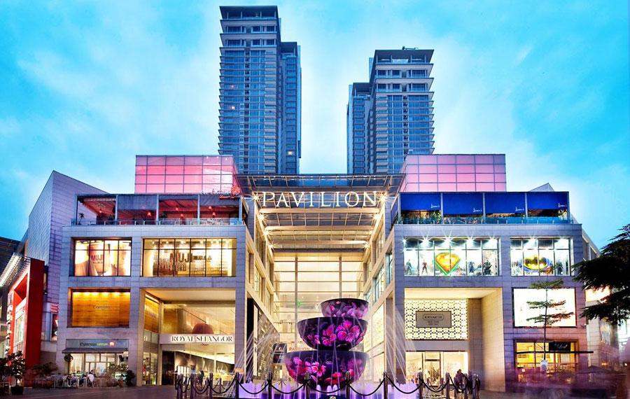 PavilionKLFacade-trung-tam-mua-sam-tuyet-voi-o-malaysia