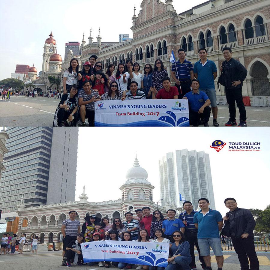 Công ty Vinasea đặt Land tour Malaysia