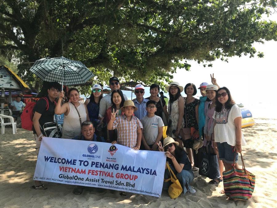 báo Kiến trúc và Đời sống tham quan Malacca - Penang