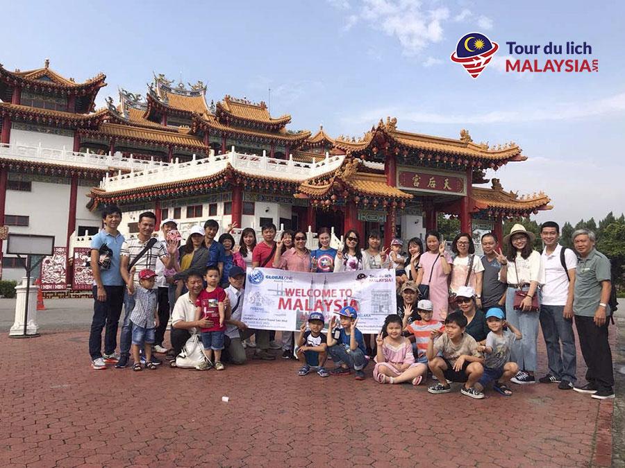 VNPT Net 2 - tham quan chùa thiên hậu Malaysia