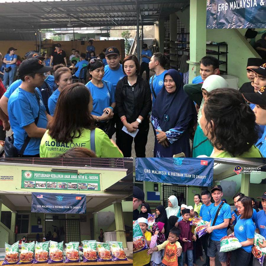 du lịch kết hợp từ thiện ERG Vietnam