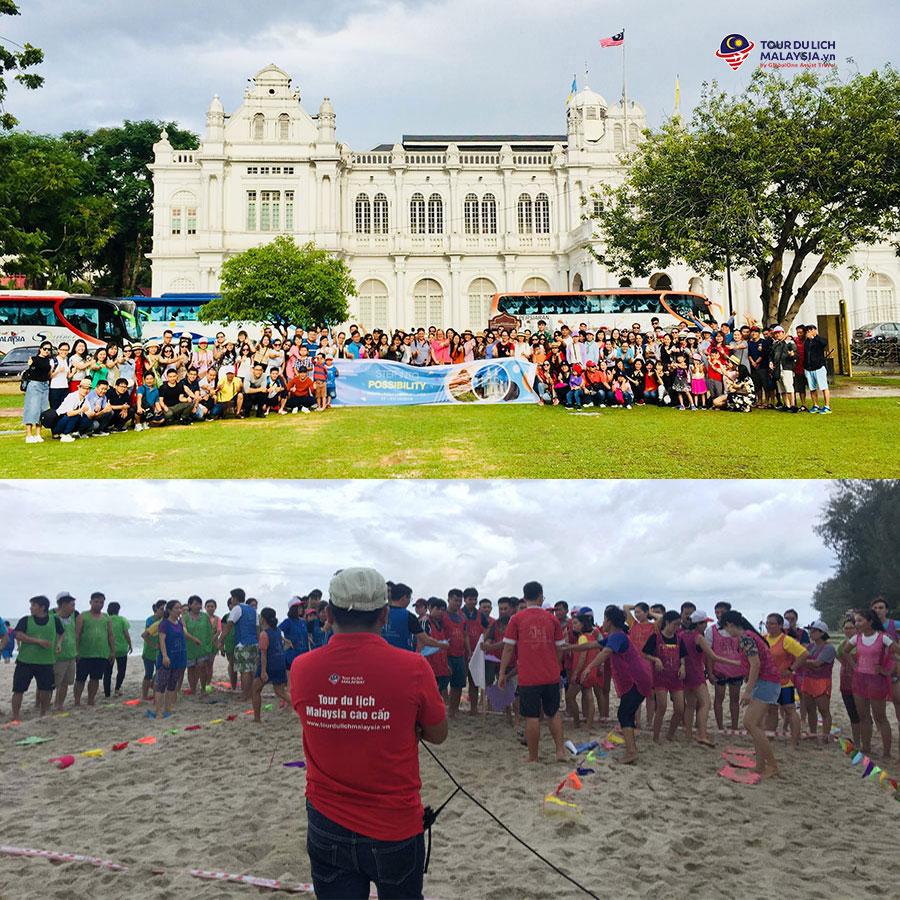 teambuilding Penang trường quốc tế AIS - land tour malaysia