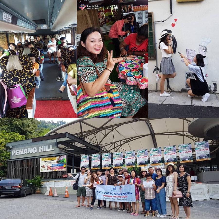 báo Kiến Trúc và đời sống tham quan đảo Penang