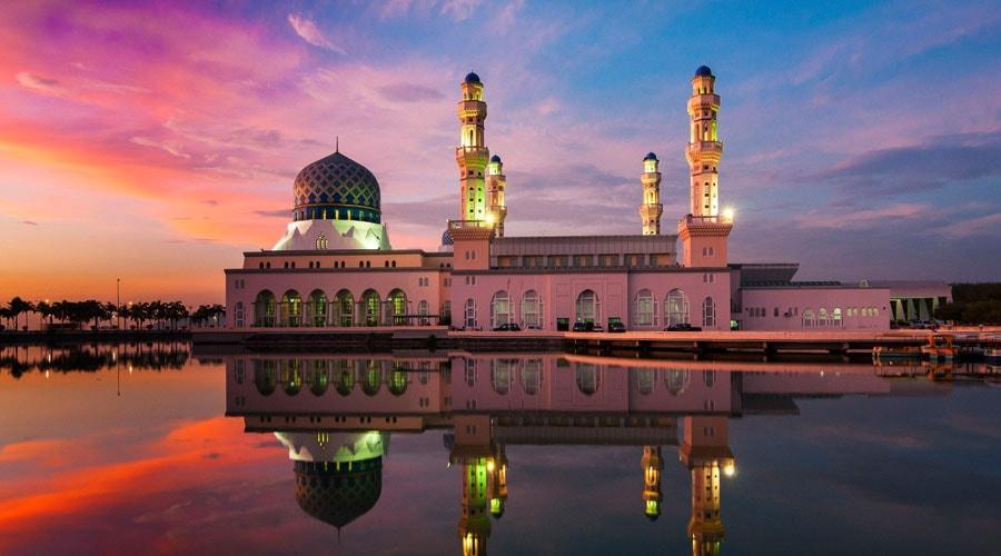 nha-tho-hoi-giao-City-Mosque-kota-kinabalu-malaysia