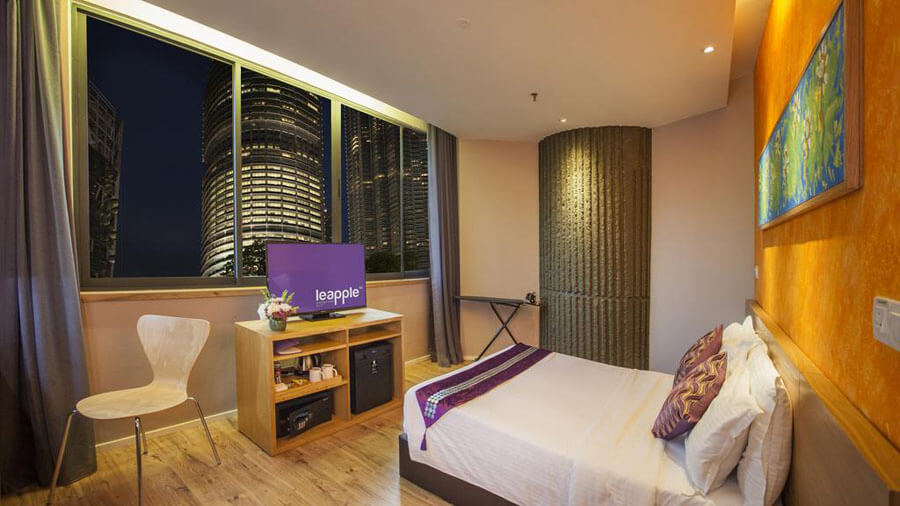 Le -Apple -Boutique -Hotel KLCC- khach- san -3 -sao- gan -Petronas -Twin -Towers